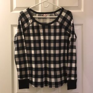 Top ONLY 💖 Victoria Secret Thermal Sleep Shirt